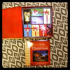 "Vintage ""What God Wants For Christmas "" !! ❤"